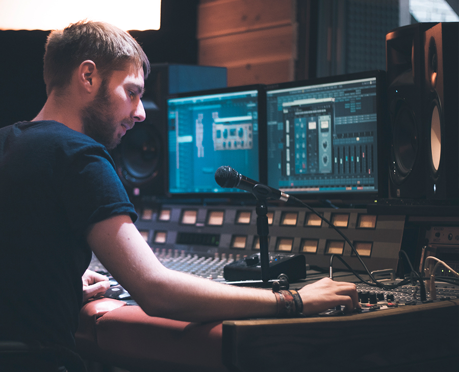 Tonstudio Cubase Musik Studio für Musiker